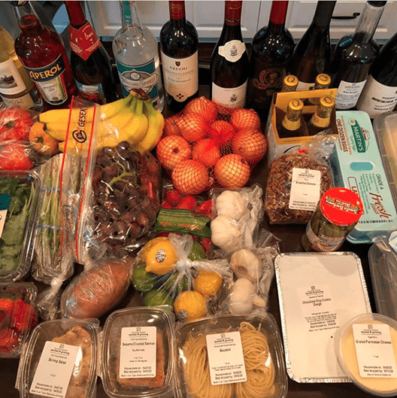 Grocery delivery from Founding Farmers Market and Grocery